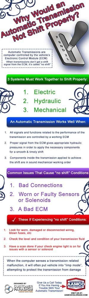 Why Would an Automatic Transmission Not Shift Properly?