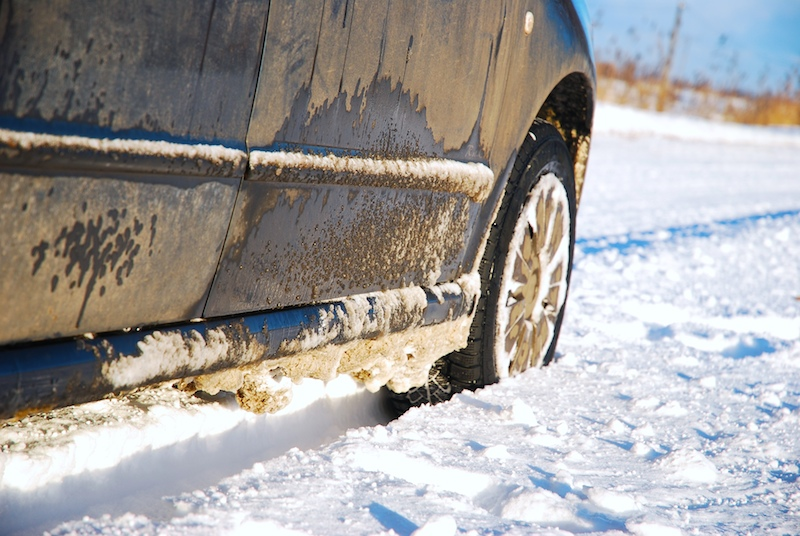 Get Car Unstuck From Snow