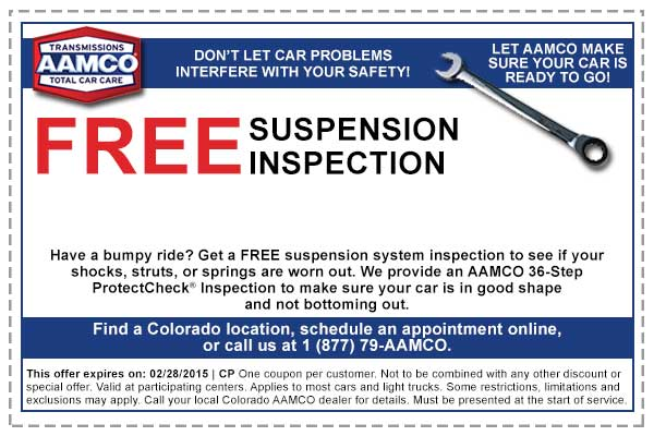 Shock replacement coupons