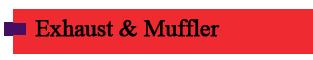 Denver Exhaust and Muffler Repair