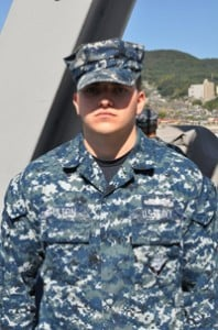 image - photo of Michael Fulton, Petty Officer 3rd Class