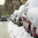 Snowy cars along a road - Transmission Repair - AAMCO Colorado