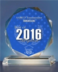 AAMCO of Brighton wins 2016 Award in category Transmissions.