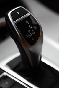 Image - detail of automatic transmission shifter.