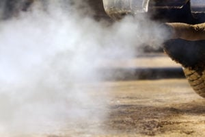 image - jalopy exhaust fumes.