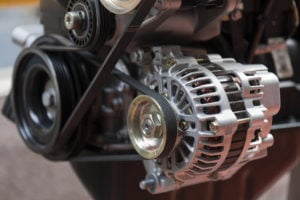 image - closeup of alternator