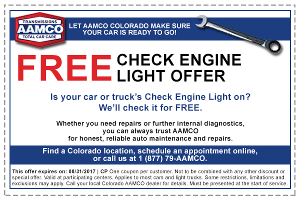 For AAMCO Transmissions Centers we currently have 5 coupons and 0 deals. Our users can save with our coupons on average about $ Todays best offer is 5% Off Your Purchase.