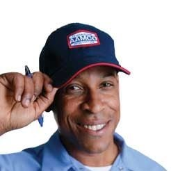 image of smiling AAMCO mechanic welcoming you.