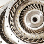 image of a turbine of an automatic transmission,