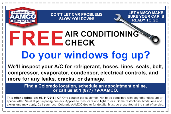 coupon for free ac check