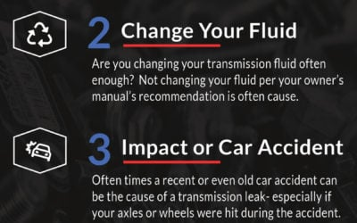 Why Is My Transmission Fluid Leaking?