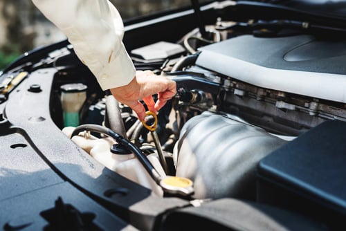 For the health of your vehicle, check your owner's manual on how often to change your oil