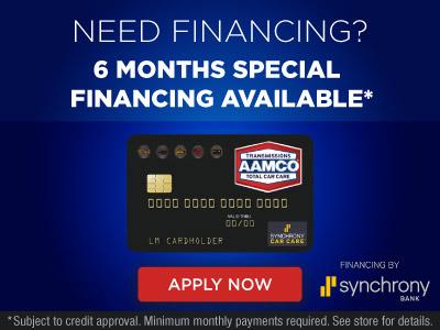 image of MySynchrony Financing Banner